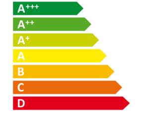 amerikanischer-Kühlschrank Energieeffizienzklasse A